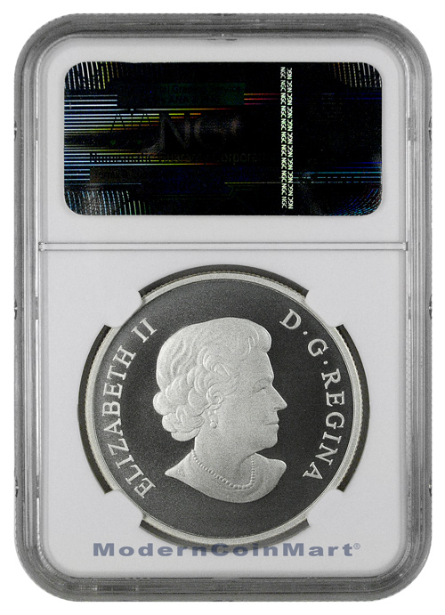 2014 Canada $100 1 oz. Silver The Grizzly NGC PF70 MATTE Early