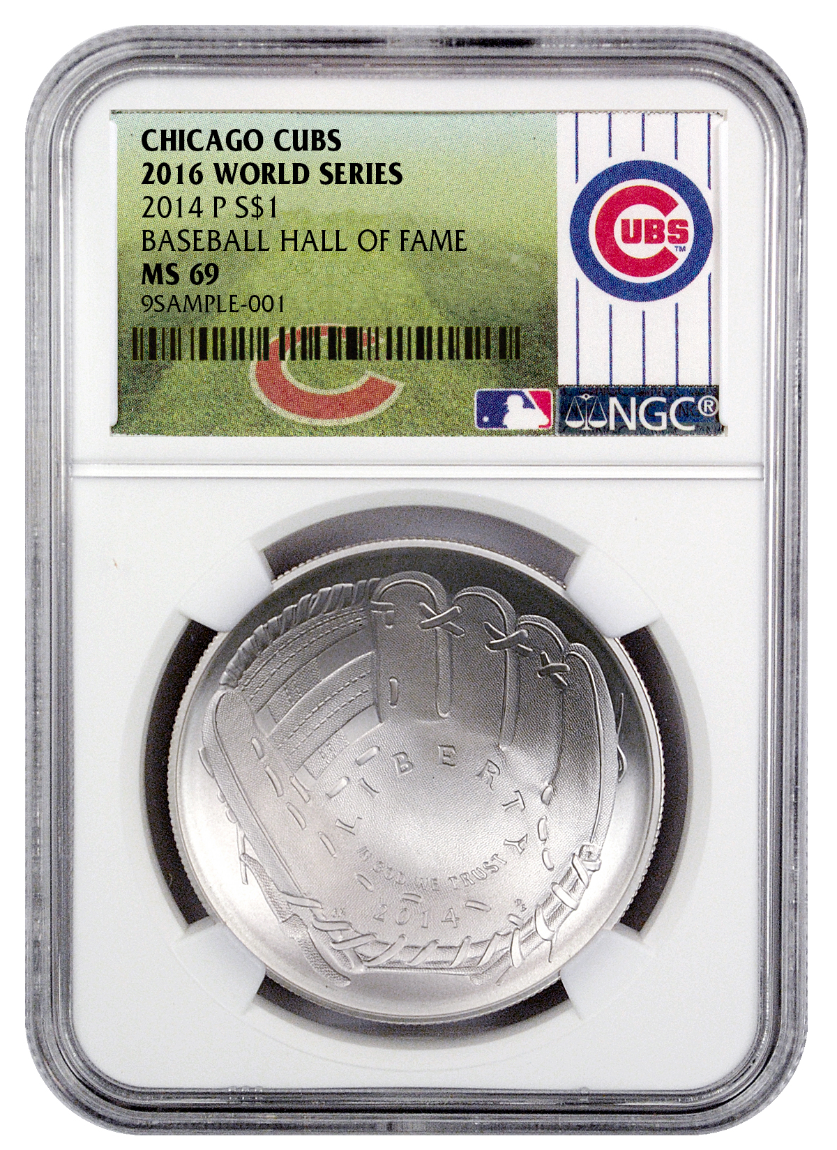 2014 P Baseball Hall Of Fame Commemorative Silver Dollar