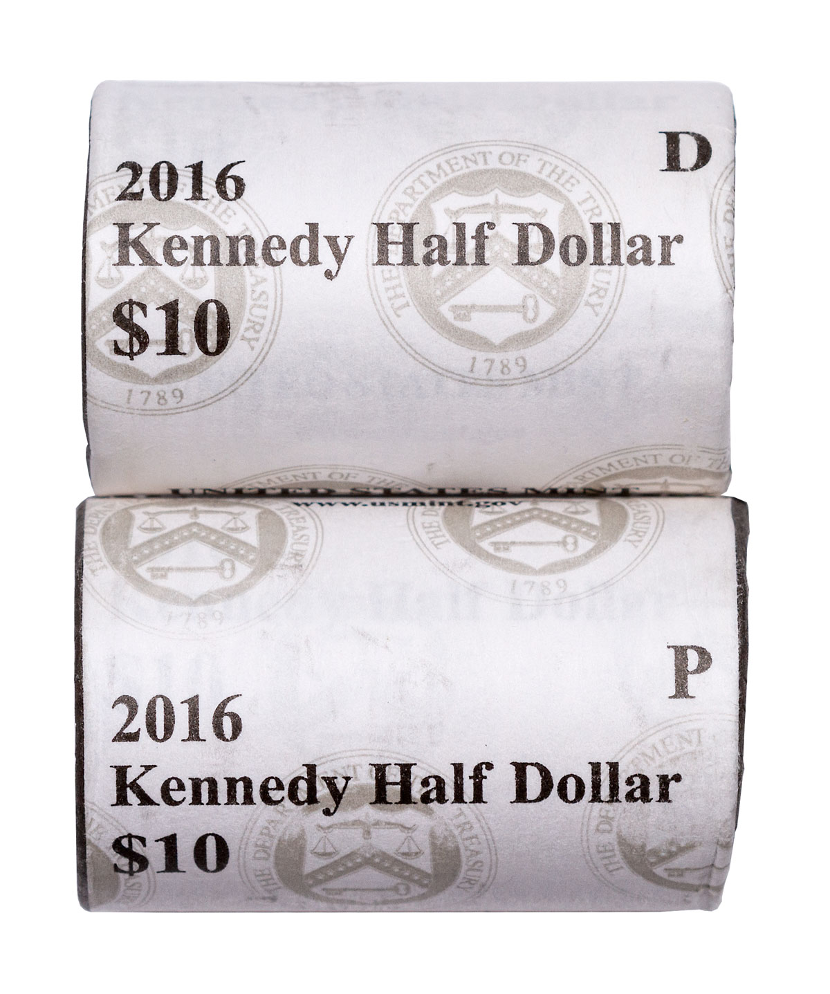 1990 P D S Kennedy Half Dollars With Capsules from Mint Set Combined Shipping