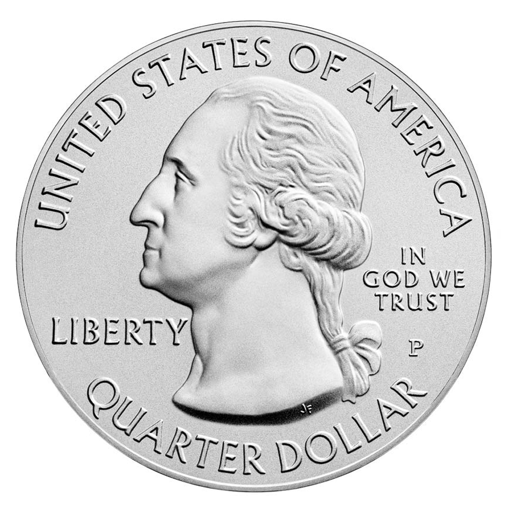 2017 Ozark 5 oz. Silver America the Beautiful Coin obverse design