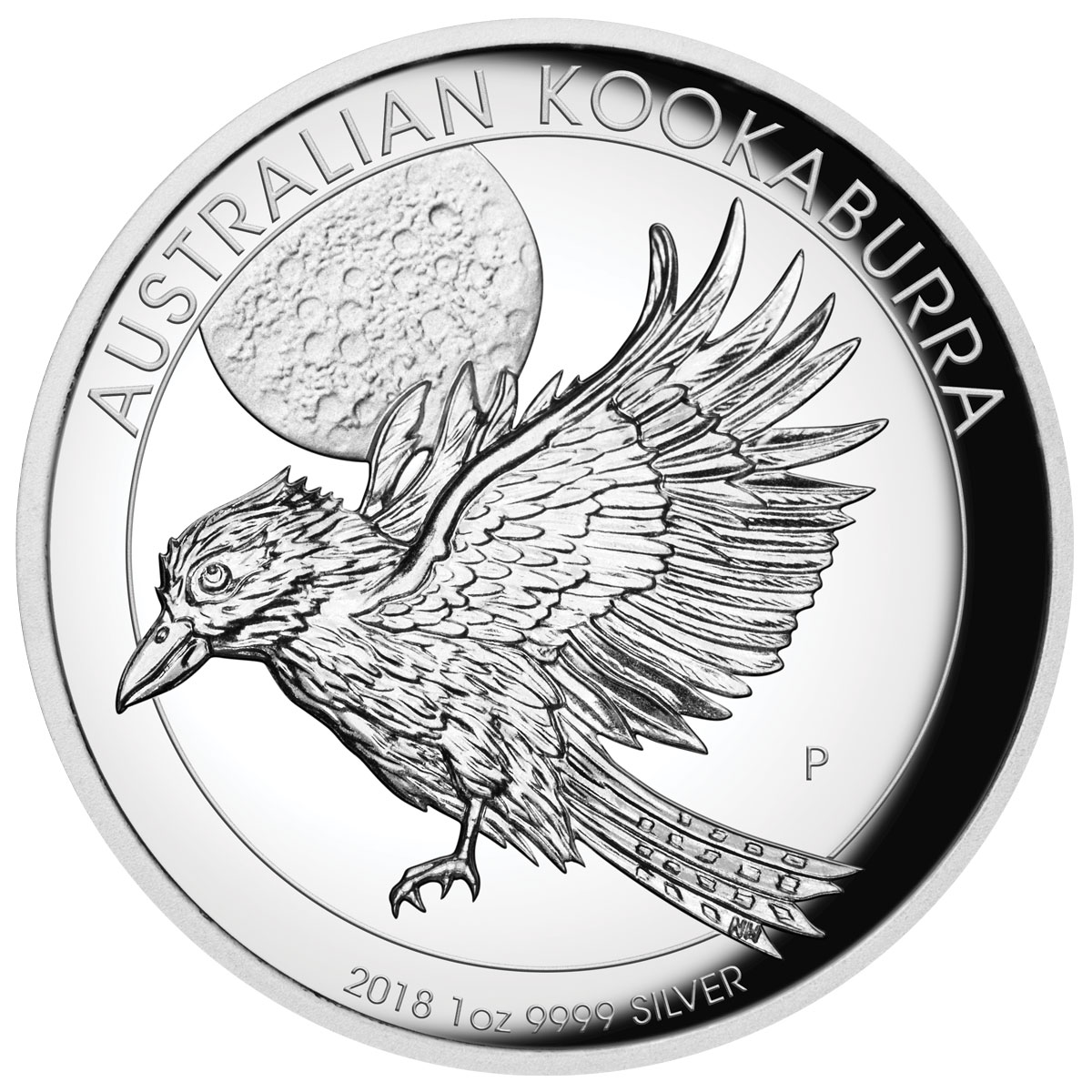 2018 Australia 1 oz High Relief Silver Kookaburra Proof $1 Coin GEM Proof OGP