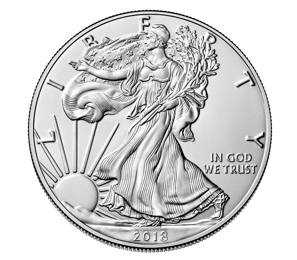 Monster Box Of 500 Coins 2018 American Silver Eagle 1