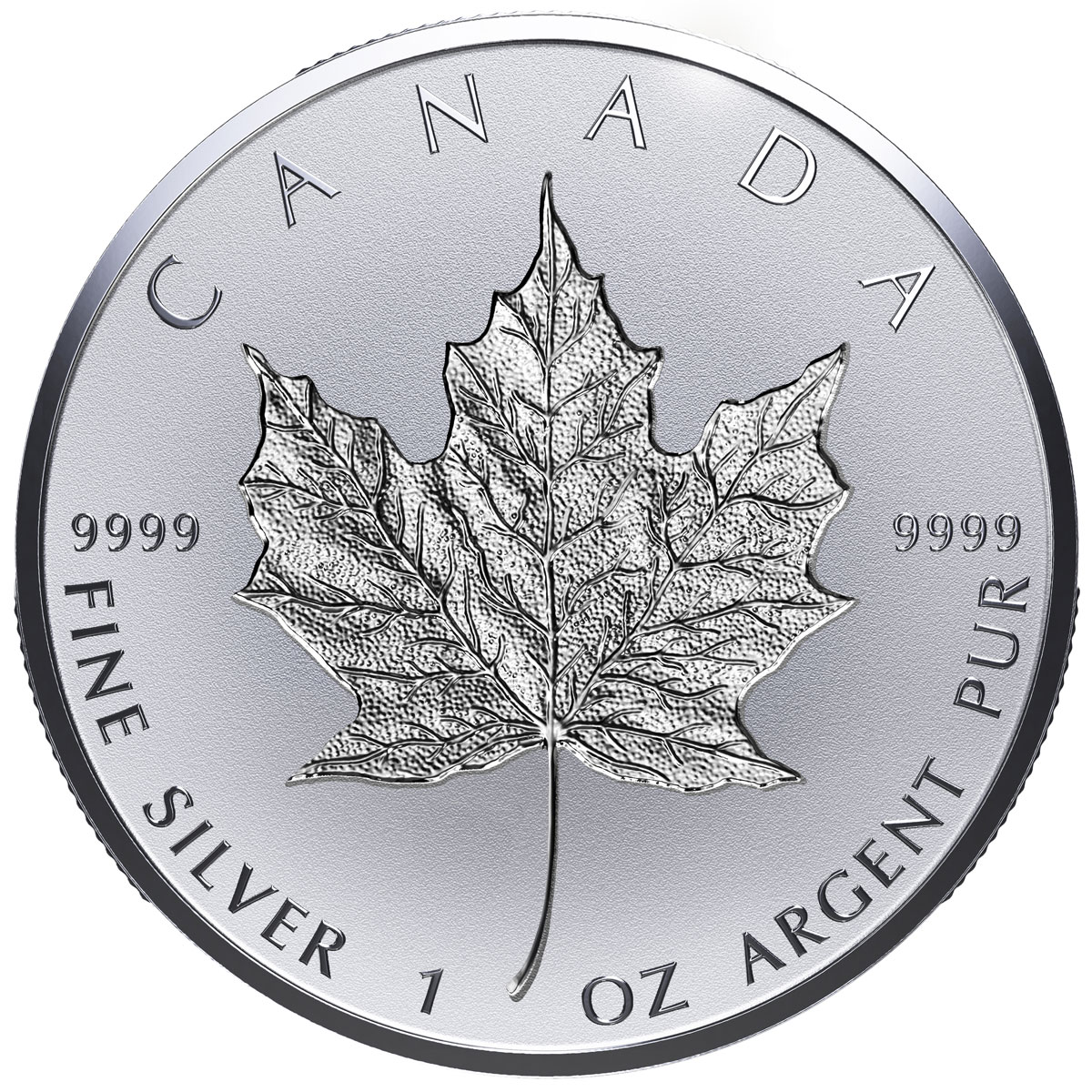 2018 Canada 1 oz Silver Maple Leaf - Incuse Reverse Proof $20 Coin GEM Proof OGP