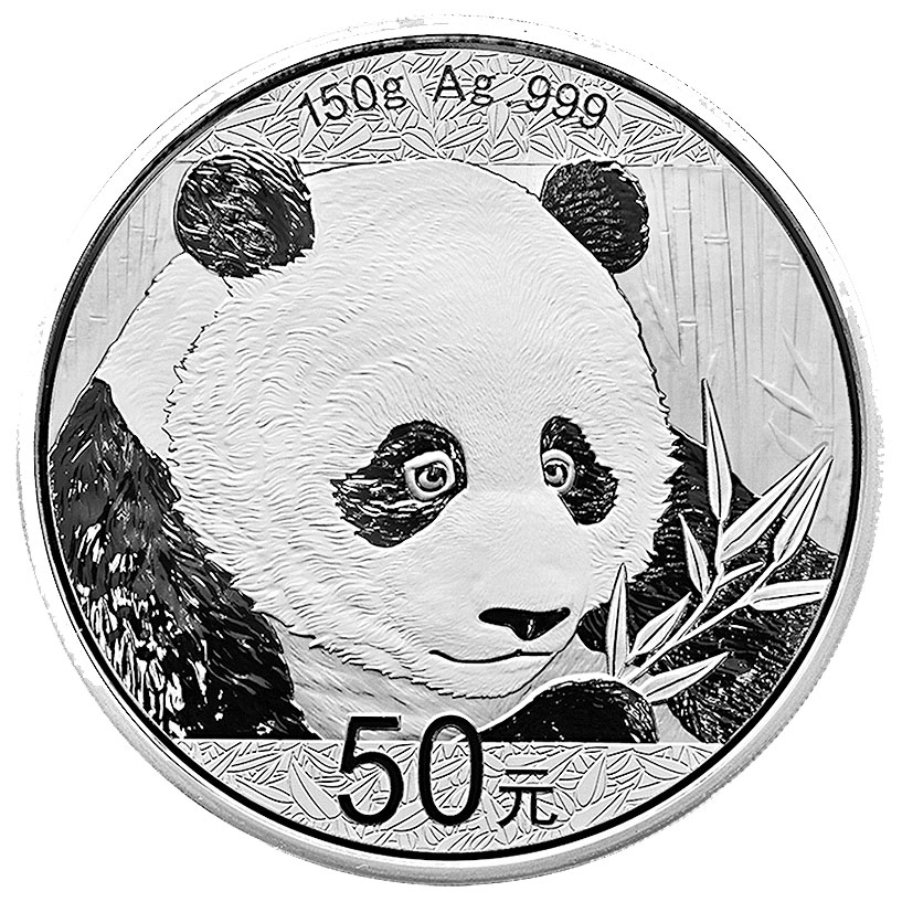 2018 China 150 g Silver Panda Proof ¥50 Coin GEM Proof OGP with COA