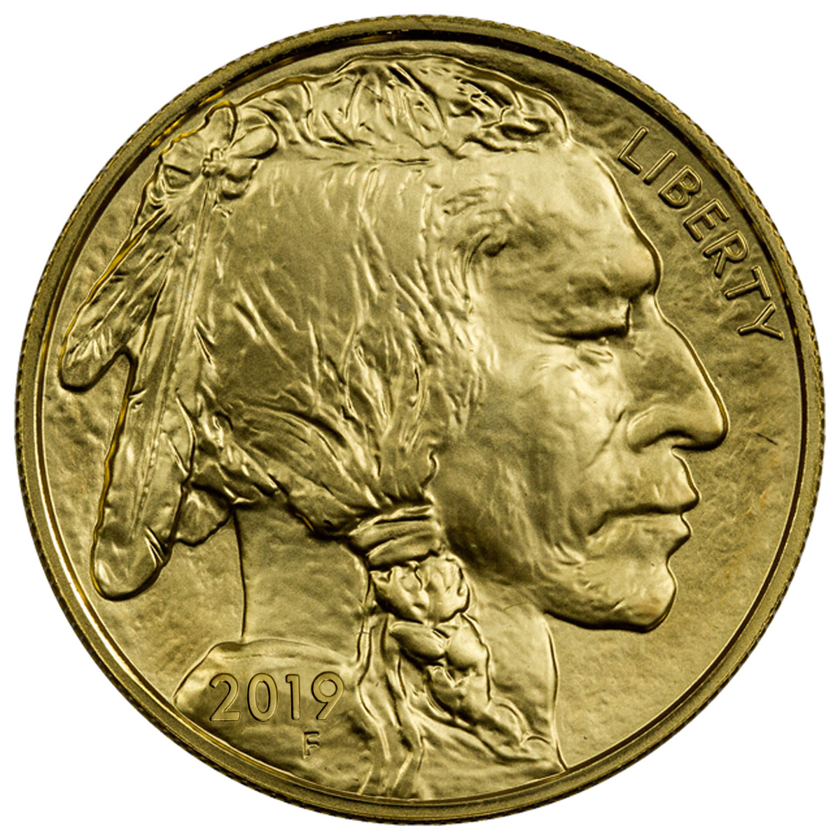 2019 1 oz Gold Buffalo $50 Coin GEM BU