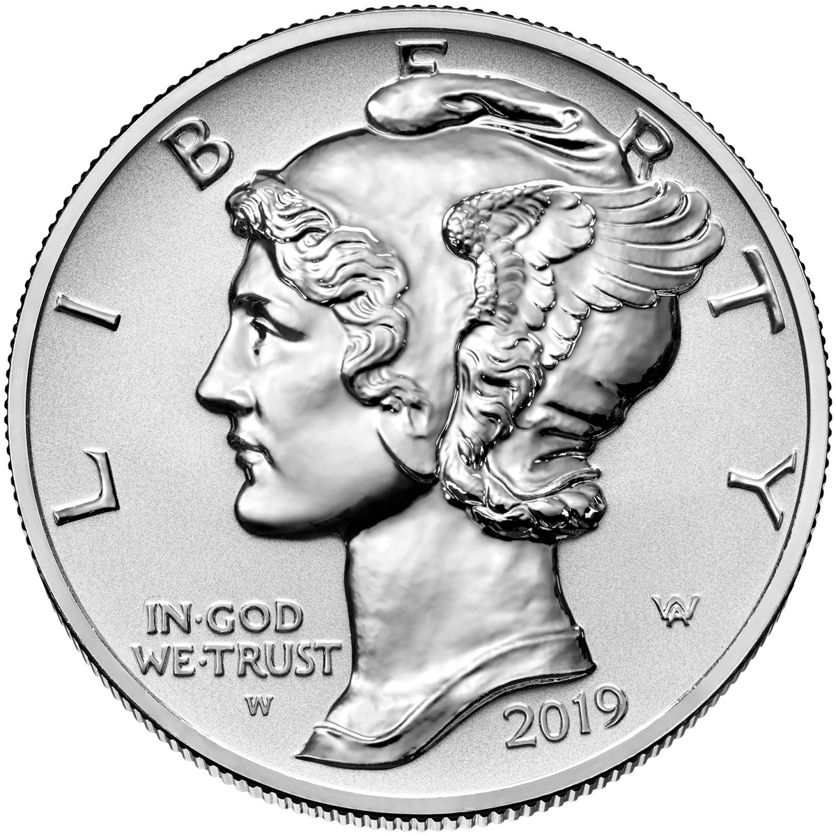 2019-W 1 oz High Relief Palladium Eagle Reverse Proof $25 Coin OGP