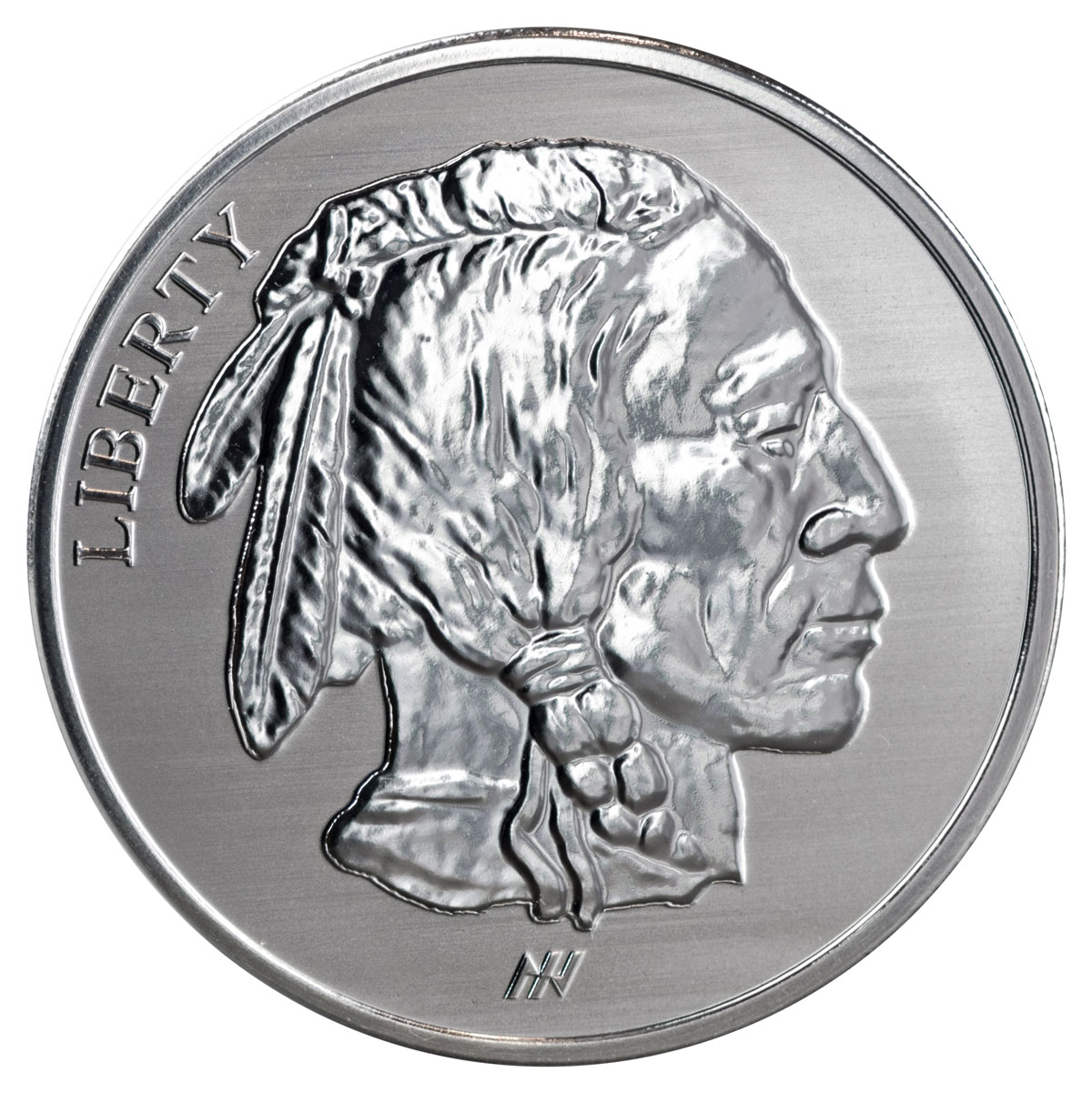 Buffalo Design 1 oz Silver Round Reverse Proof