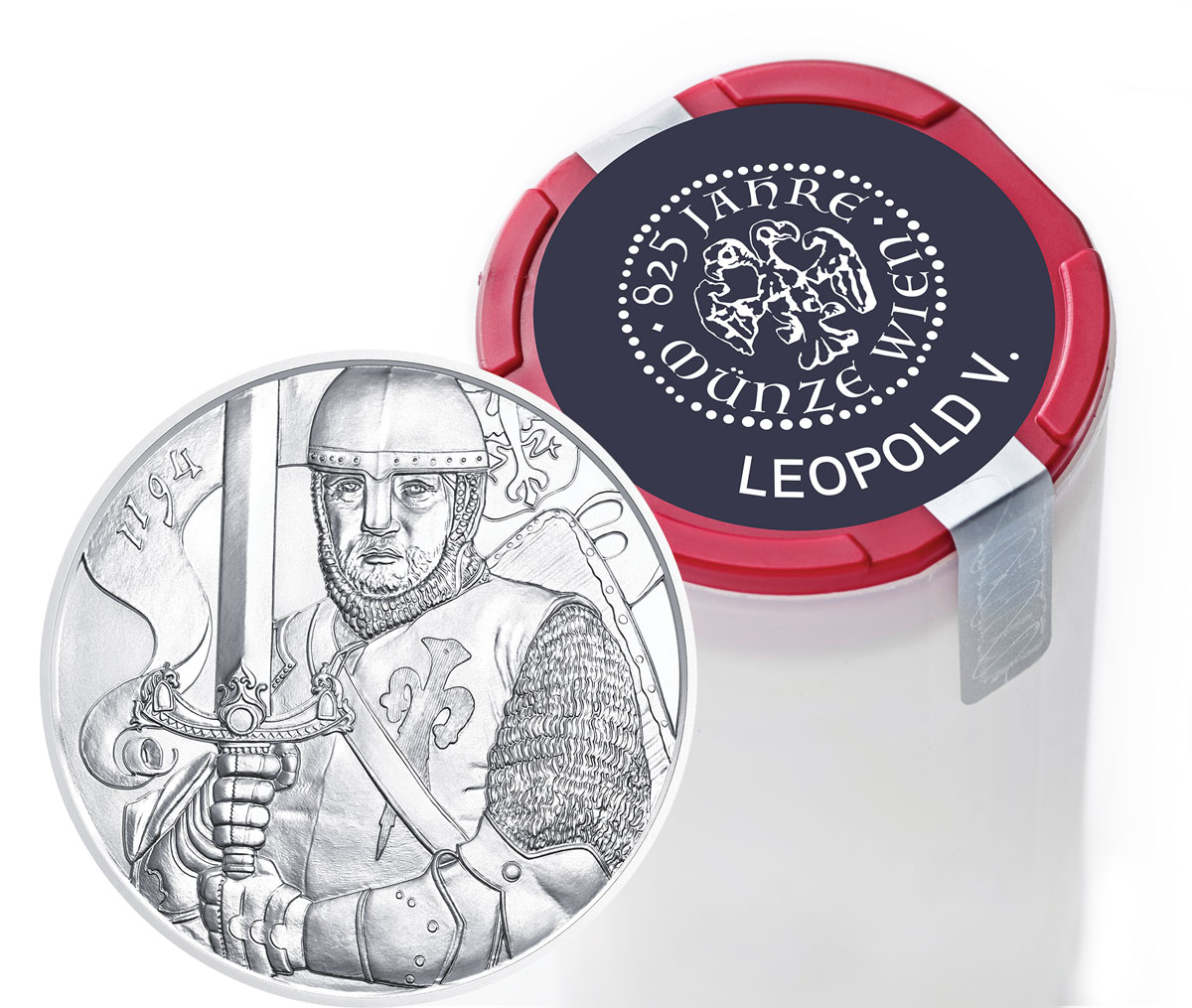 Roll of 20 - 2019 Austria 1 oz. Silver Leopold Coins GEM BU