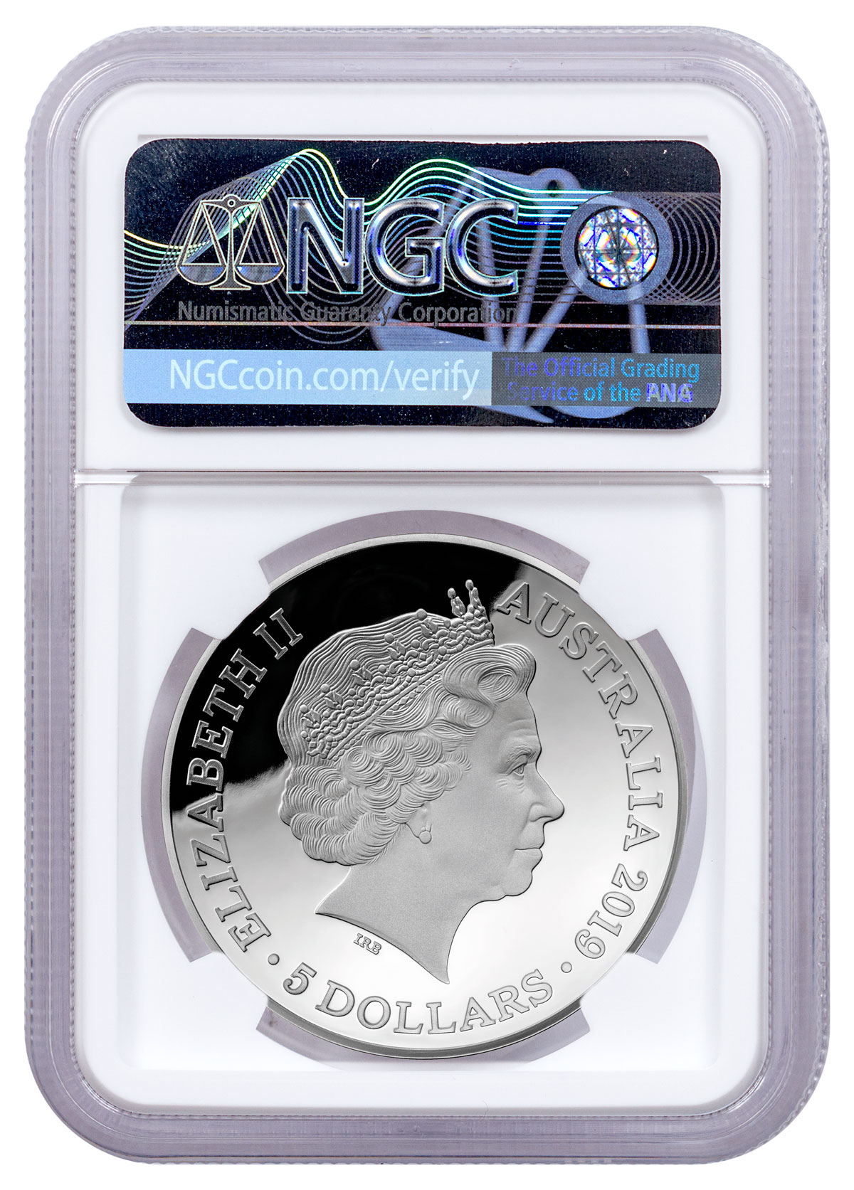 NGC PF70 2019 Niue Apolo Moon Landing 50Th Anni Silver Coin colorized Domed 1oz