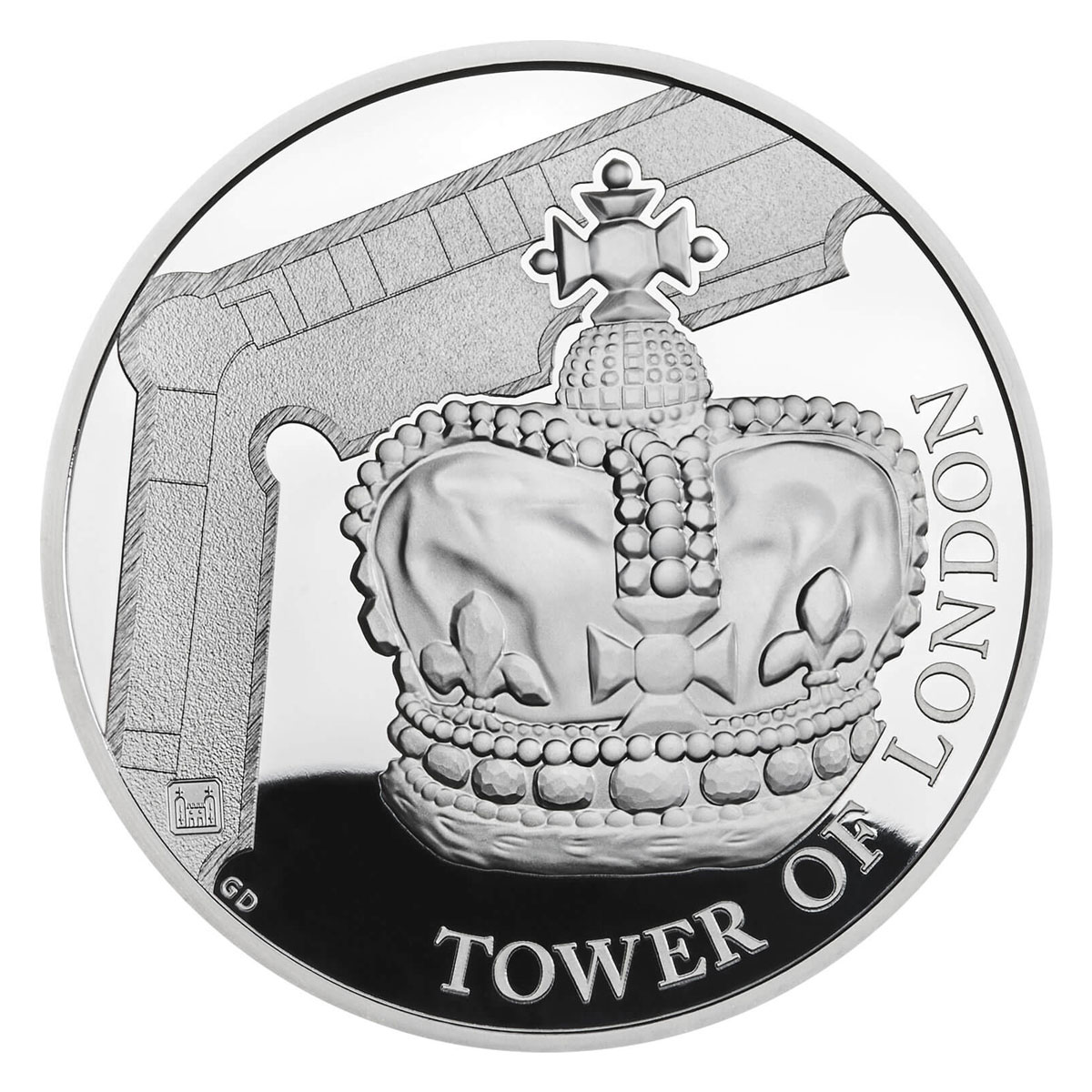 2019 Great Britain Tower of London - Crown Jewels Silver Proof £5 Coin GEM Proof