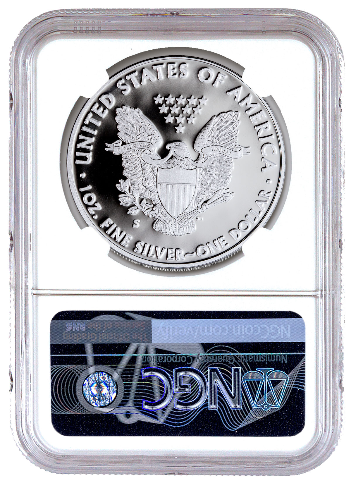 2019 W Proof American Silver Eagle NGC PF69 UC FR Exclusive Eagle Label SKU57122