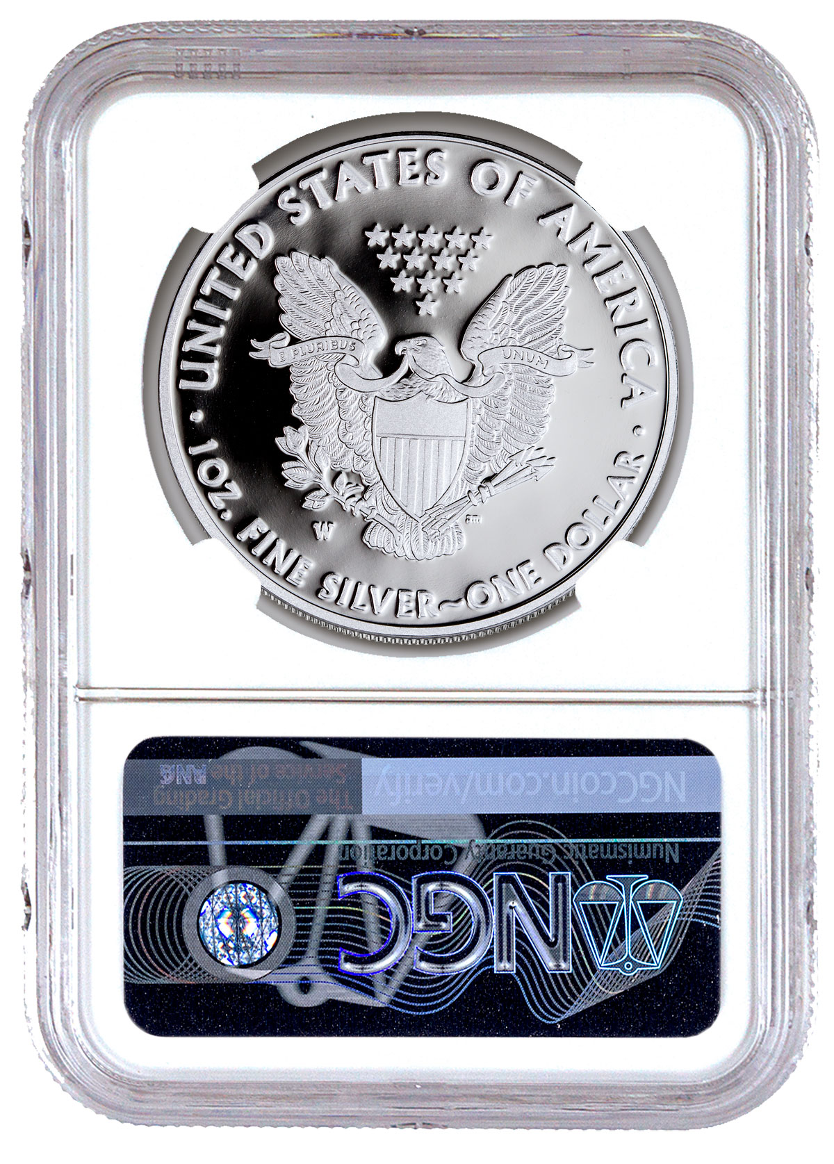 2019 W 1 Oz Proof American Silver Eagle 1 Ngc Pf70 Uc