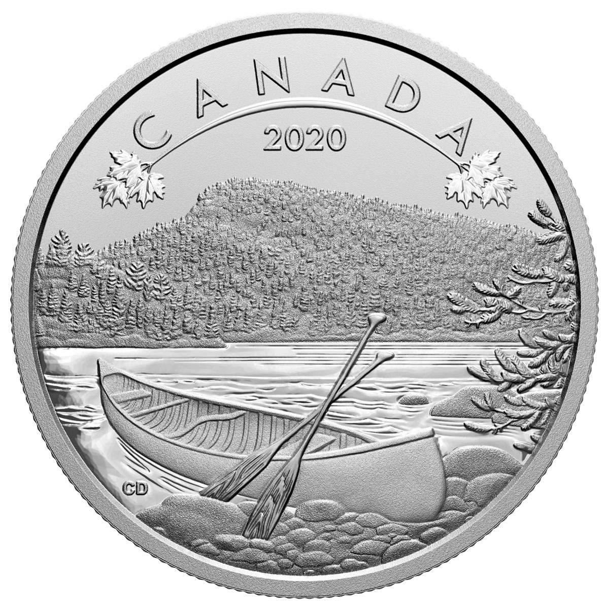 2020 Canada O Canada - Great Outdoors 1/2 oz Silver Matte Proof $10 Coin GEM Proof OGP