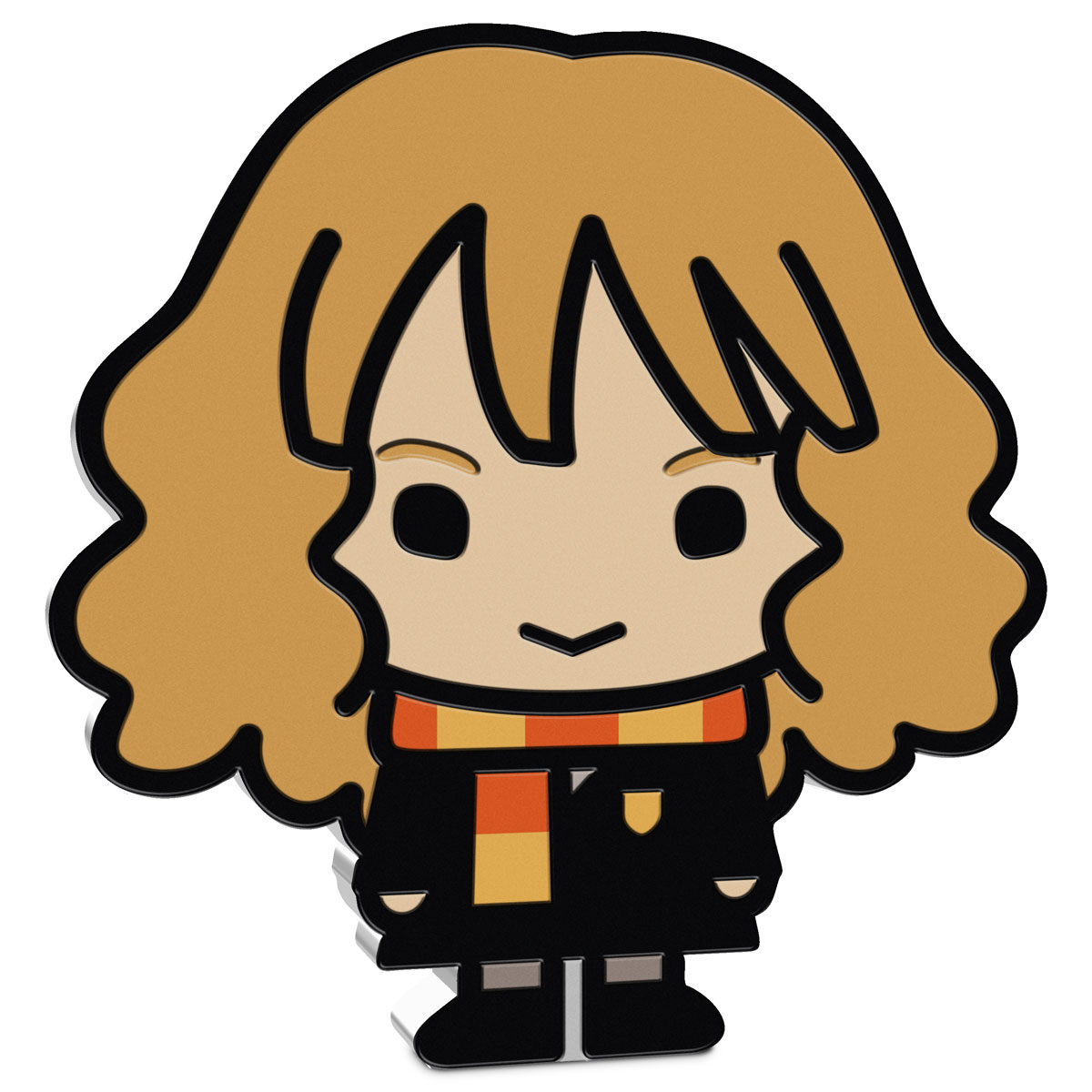 2020 Niue Harry Potter Chibi - Hermione Granger 1 oz Silver Colorized Proof $2 Coin GEM Proof