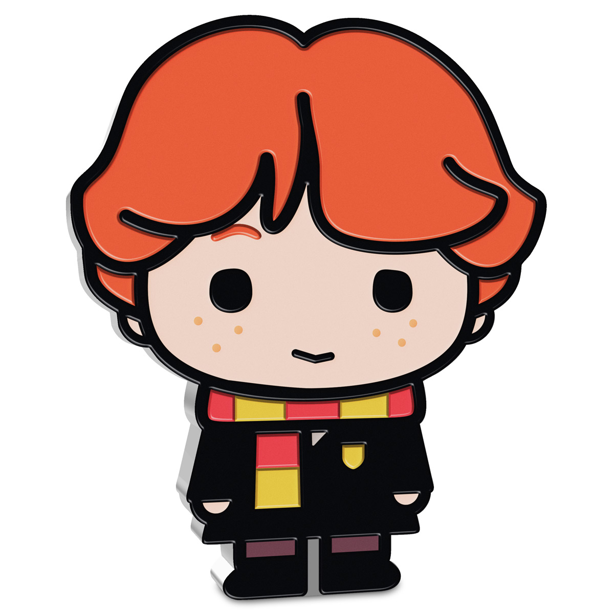 2020 Niue Harry Potter - Chibi - Ron Weasley 1 oz Silver Colorized Proof $2 Coin GEM Proof OGP
