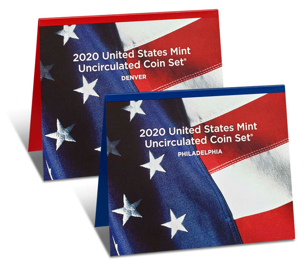 2020 U.S. Mint Uncirculated Coin Set GEM BU