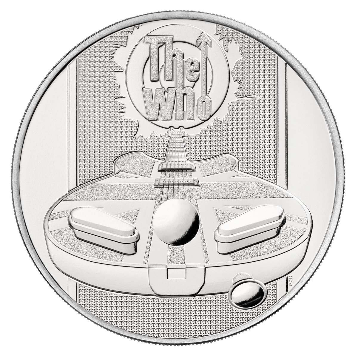 2021 Great Britain Legends of British Music - The Who 28.28 g CuNi £5 Coin GEM BU