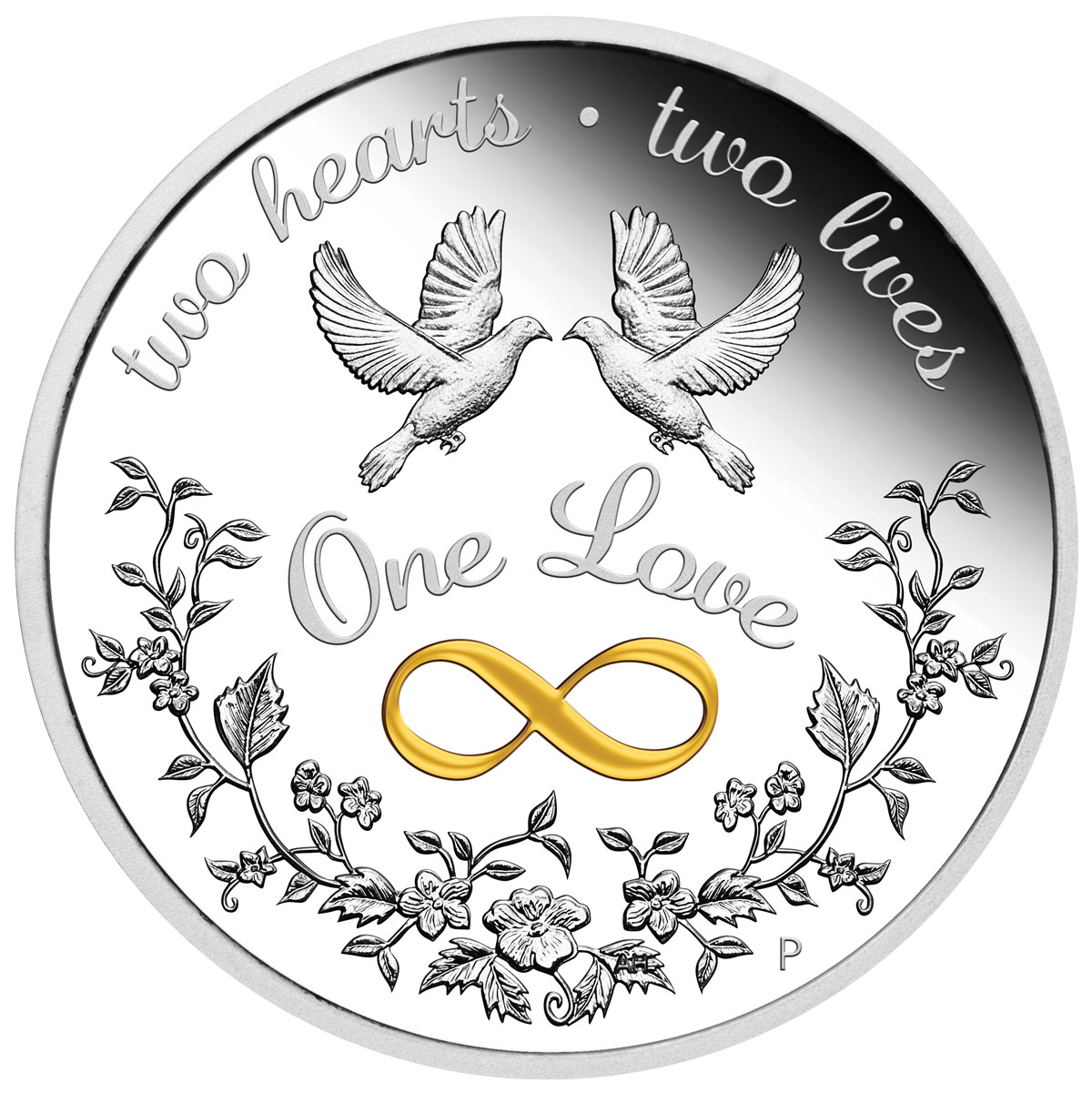 2021-P Australia One Love 1 oz Silver Proof $1 Coin GEM Proof OGP