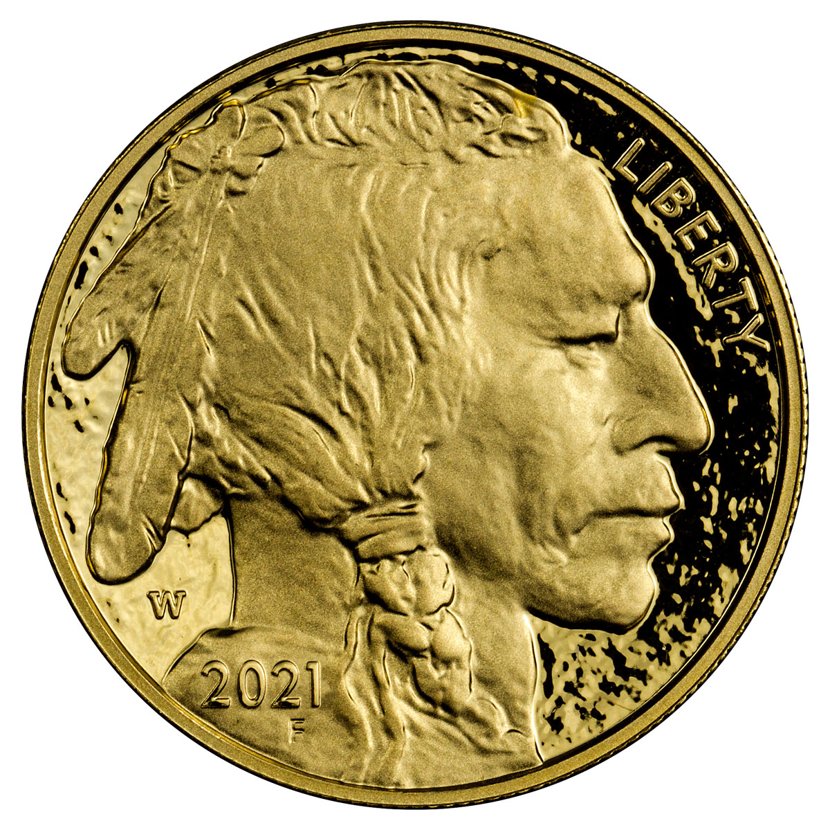 2021-W 1 oz Gold Buffalo Proof $50 Coin Proof OGP