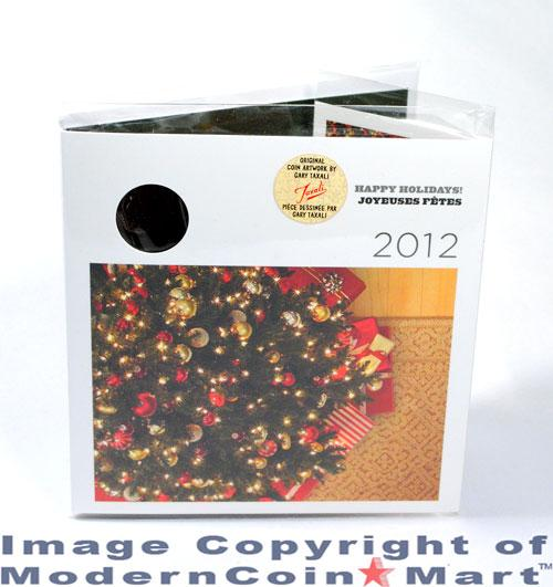 Image 2: 2012 Canada Happy Holidays Gift Coin Mint Set