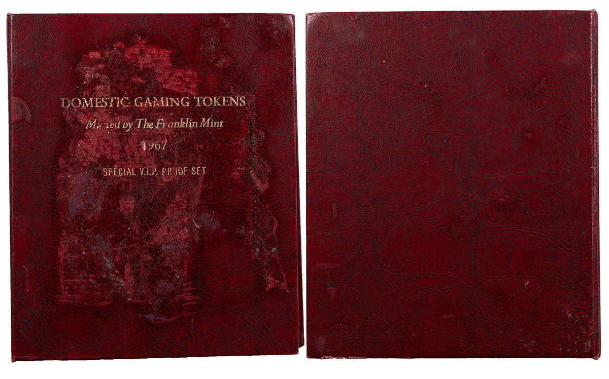 Franklin Mint Domestic Gaming Tokens Special VIP Proof Set