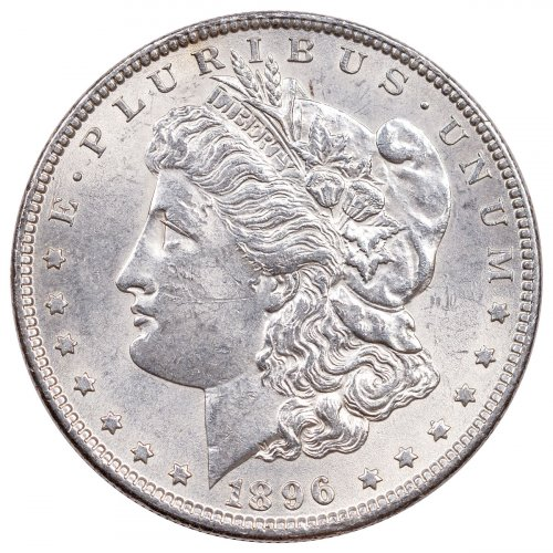 1896 Morgan Silver Dollar XF