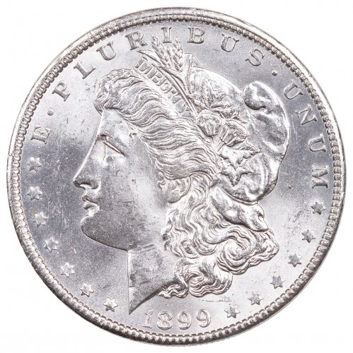 1899-O Morgan Silver Dollar BU