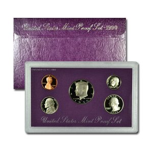 1990-S U.S. Proof Coin Set GEM Proof OGP