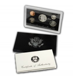 1994-S U.S. Silver Proof Coin Set GEM Proof OGP