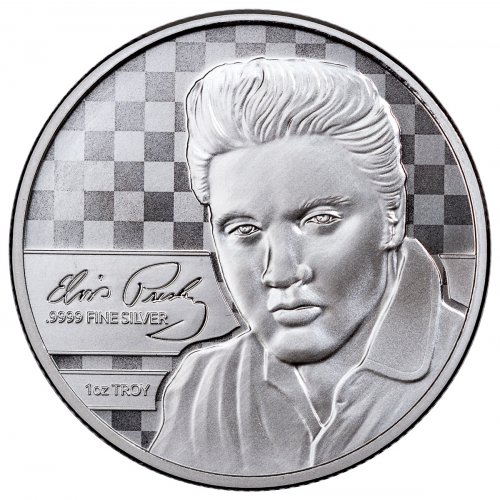 (2018) Elvis Presley 1 oz Silver Prooflike Commemorative OGP