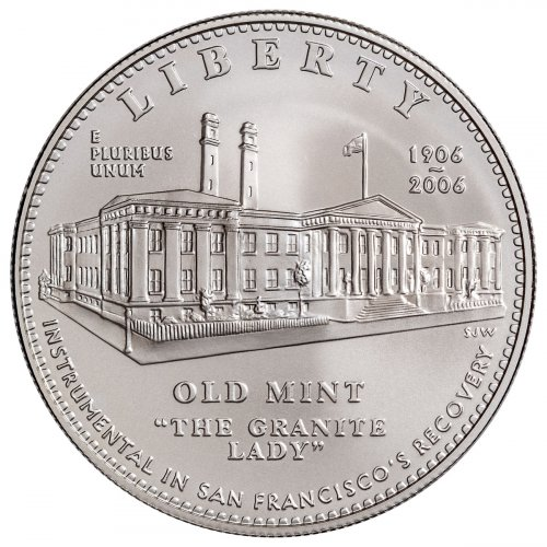 2006 San Francisco Old Mint Silver Dollar Commemorative BU