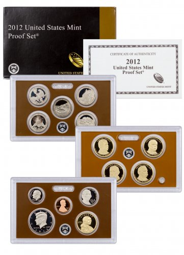 2012-S U.S. Proof Coin Set GEM Proof OGP