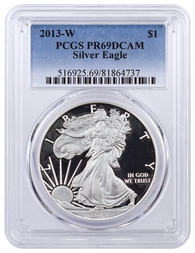 2013-W Proof American Silver Eagle PCGS PR69 DCAM