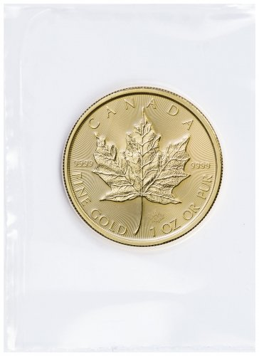 2017 Canada 1 oz Gold Maple Leaf $50 GEM BU (Mint Sealed)