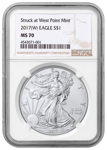 2017-(W) American Silver Eagle NGC MS70