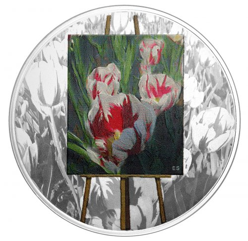 2017 Canada En Plein Air - Springtime Gifts 1 oz Silver Colorized Proof $20 Coin GEM Proof (OGP)