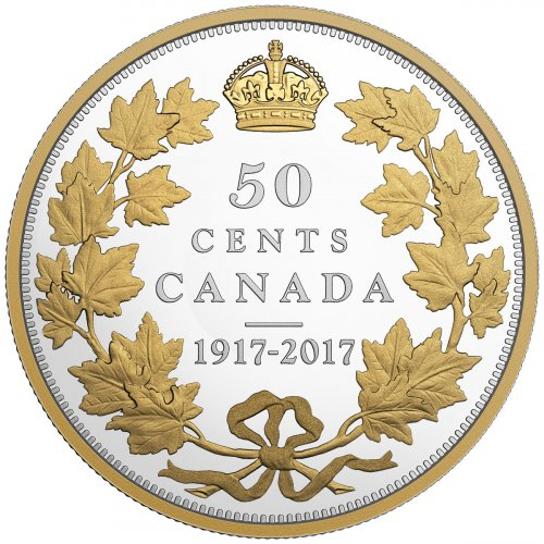 2017 Canada Master S Club Exclusive Half Dollar 2 Oz