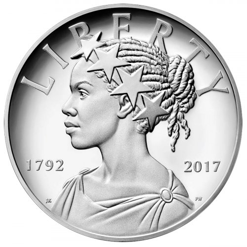 2017-P United States American Liberty 225th Anniversary 1 oz Silver Proof Medal GEM Proof OGP