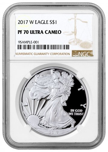 2017-W Proof American Silver Eagle NGC PF70 UC