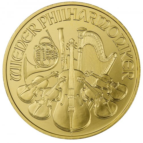 2018 Austria 1 oz Gold Philharmonic €100 GEM BU