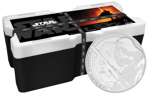 Monster Box of 250 - 2018 Niue Star Wars Classic - Darth Vader 1 oz Silver $2 Coins GEM BU