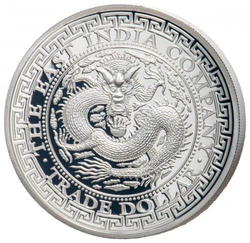 2019 Niue 1 oz Silver Chinese Trade Dollar $1 GEM Proof