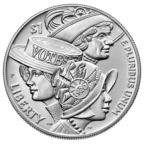 2020-P Women's Suffrage 100th Anniversary Commemorative Silver Dollar BU Coin GEM BU OGP