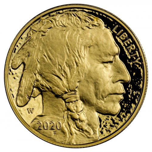 2020-W 1 oz Gold American Buffalo Proof $50 Coin GEM Proof OGP