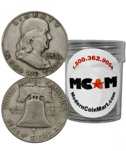 How much is a 1963 franklin silver half dollar worth