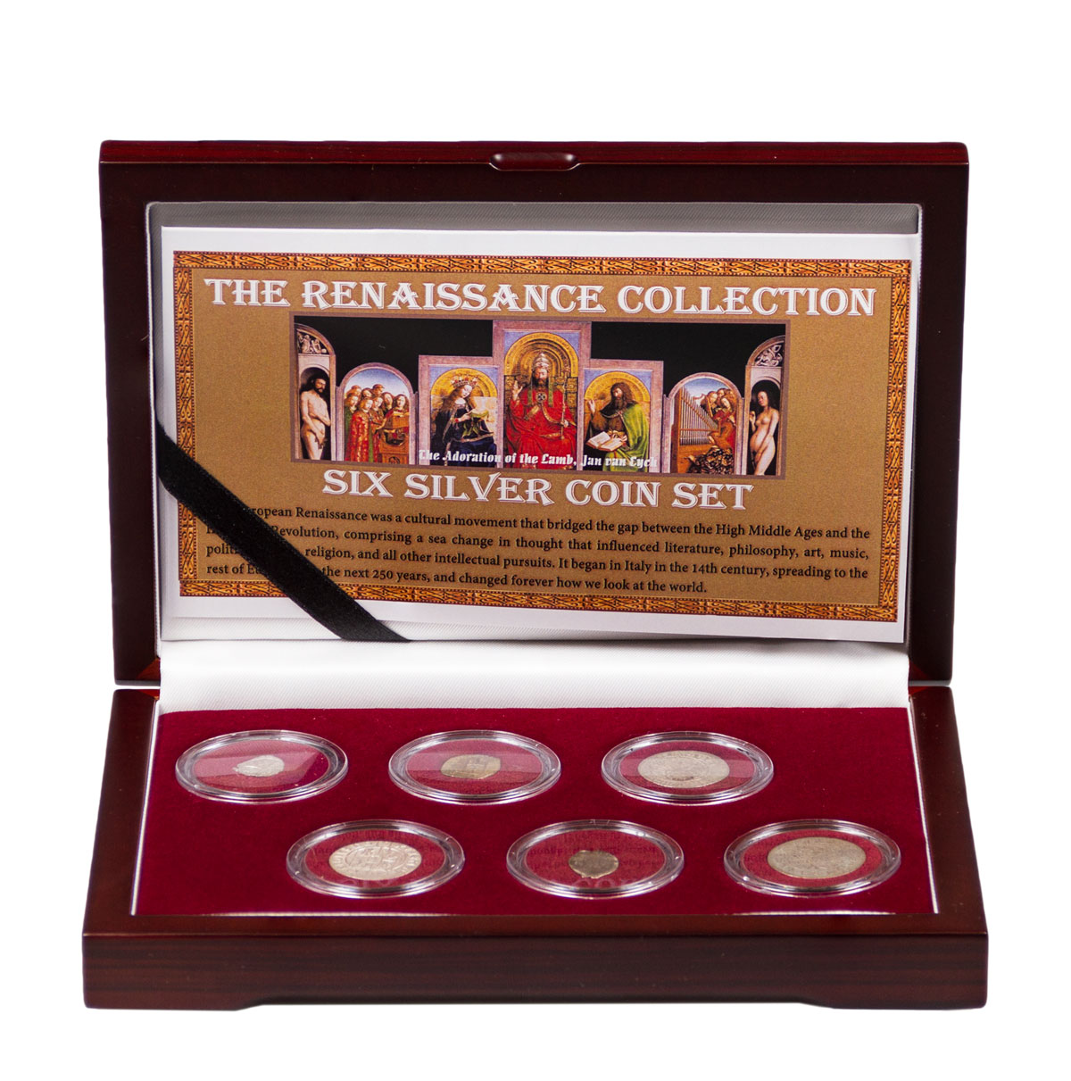 The Renaissance: 6 Silver Coin Collection