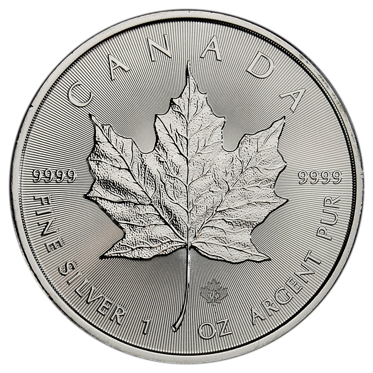 2015 Canada 1 Oz Silver Maple Leaf 5 Gem Bu Moderncoinmart