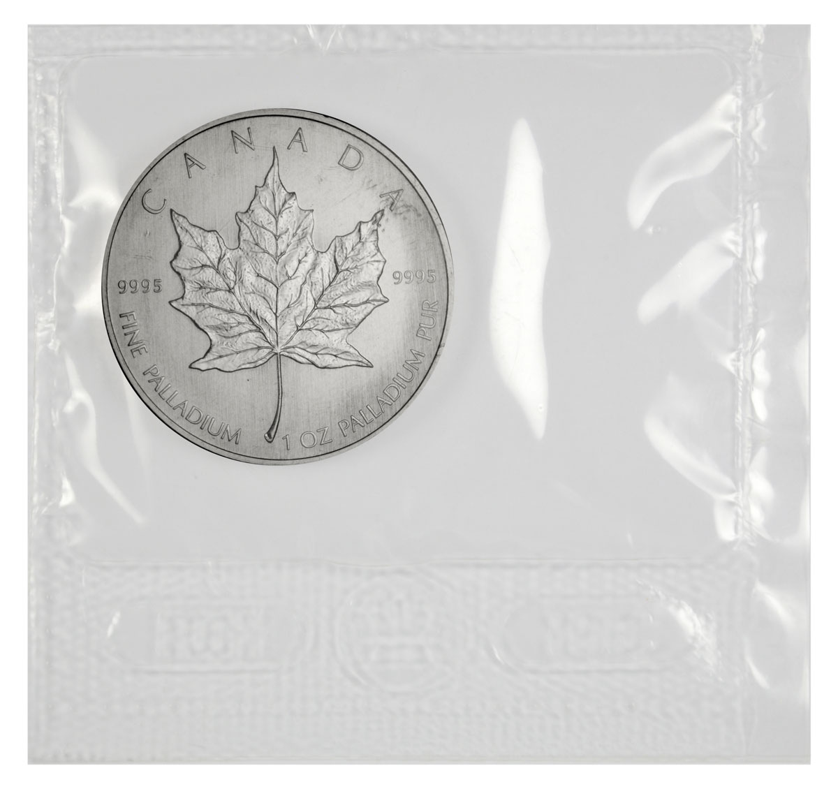 Random Date Canada 1 oz Palladium Maple Leaf $50 GEM BU