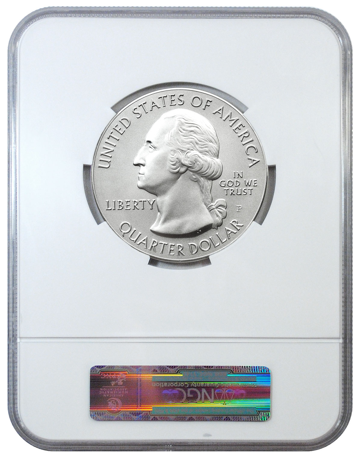 2014 P 5oz Silver Arches National Park Coin NGC SP70 Early Releases