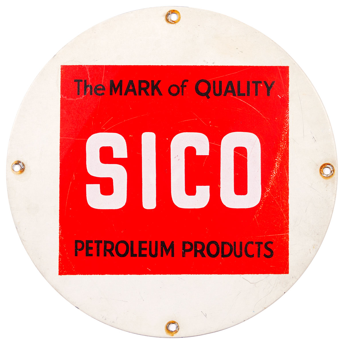 Sico Oil Company Lubster Oil Plate